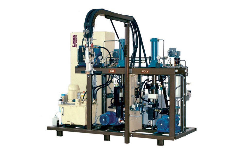 polyurethane foam spray equipment 2